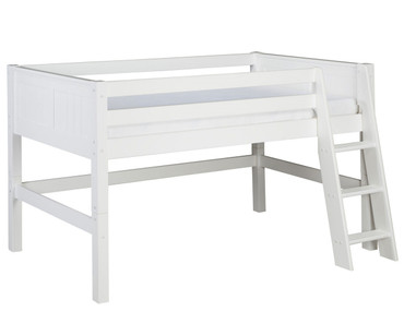 Camaflexi Low Loft Bed Full Size White 2 | Camaflexi Furniture | CF-E423F