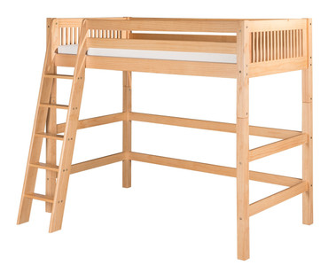 Camaflexi High Loft Bed Twin Size Natural | Camaflexi Furniture | CF-E611