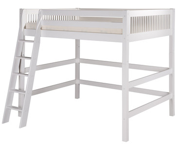 Camaflexi High Loft Bed Full Size White | Camaflexi Furniture | CF-E613F