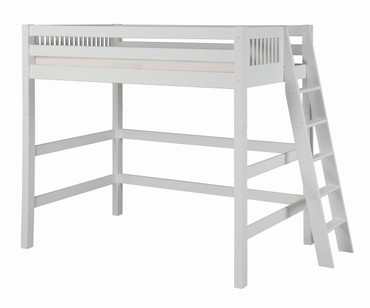 Camaflexi High Loft Bed Twin Size White 2 | Camaflexi Furniture | CF-E613L