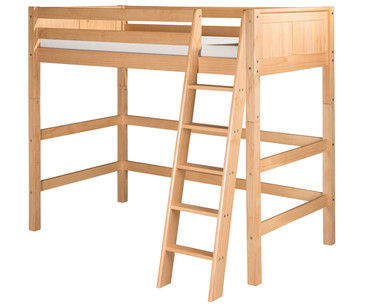 Camaflexi High Loft Bed Twin Size Natural 2 | Camaflexi Furniture | CF-E621