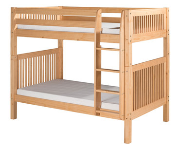 Camaflexi High Bunk Bed Twin Size Natural | Camaflexi Furniture | CF-E911