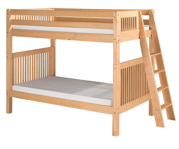 Camaflexi High Bunk Bed Twin Size Natural 2 | Camaflexi Furniture | CF-E911L