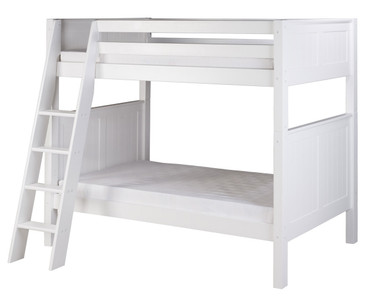 Camaflexi High Bunk Bed Twin Size White 4 | Camaflexi Furniture | CF-E923A
