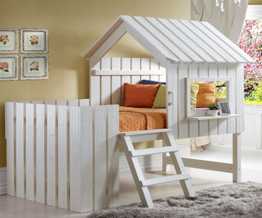 Cabana Loft Bed Twin Size | Donco Trading | DT1350TLRP