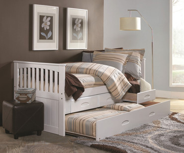 Cambridge Captains Trundle Bed | Discovery World Furniture | DWF0235