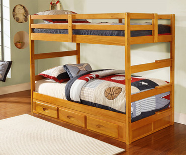Honey Ranch Bunk Bed | Discovery World Furniture | DWF2108
