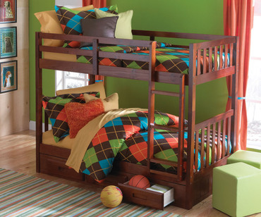 Acadia Mission Bunk Bed 1 | Discovery World Furniture | DWF2810-