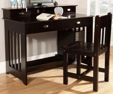Espresso Student Desk | Discovery World Furniture | DWF2967