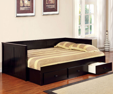 Wolford Daybed Full Size Black | Furniture of America | GI-CM1927BK