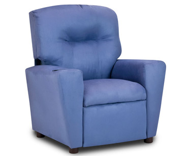 Kidz World Recliner Designer Fabric Grape Suede | Kidz World | KW1300-GS
