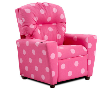 Kidz World Recliner Designer Fabric Oxygen Pink | Kidz World | KW1300-OP
