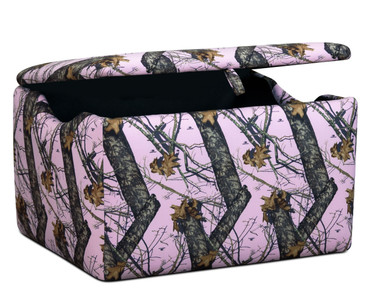 Kidz World Storage Box Realtree Mossy Oak Pink | Kidz World | KW1400-MOP