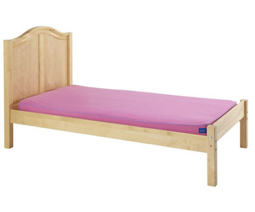 Maxtrix Twin Size Bed with Foot Panel Natural | Maxtrix Furniture | MX-1150-NC