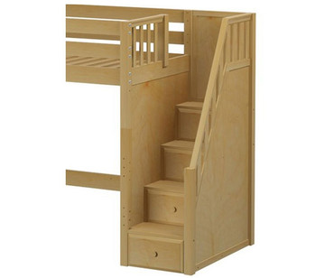 Maxtrix Components High Loft with Stairs Conversion Kit | Maxtrix Furniture | MX-1730-HIGH