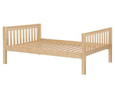 Maxtrix Full Size Bed Natural 2 | Maxtrix Furniture | MX-2000-NS