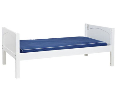 Maxtrix Full Size Bed White 1 | Maxtrix Furniture | MX-2000-WP