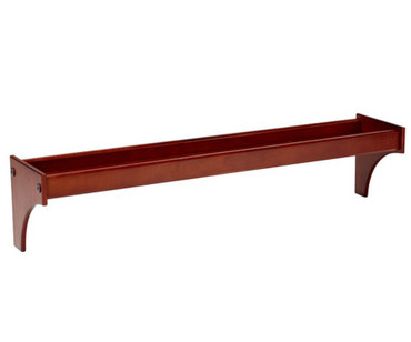 Maxtrix Long Bedside Tray Chestnut | Maxtrix Furniture | MX-2105-C