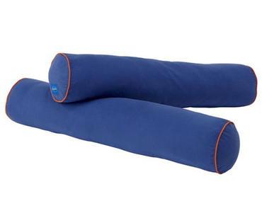 Maxtrix Bolsters - Pair - Blue/Orange | Maxtrix Furniture | MX-3760-042
