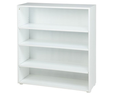 Maxtrix 4 Shelf Bookcase White | Maxtrix Furniture | MX-4740-W