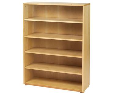 Maxtrix 5 Shelf Bookcase Natural | Maxtrix Furniture | MX-4750-N