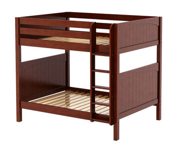 Maxtrix BUFF High Bunk Bed Full Size Chestnut | Maxtrix Furniture | MX-BUFF-CX