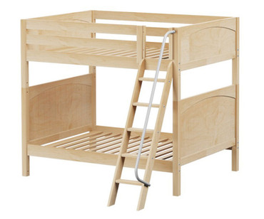 Maxtrix CHUFF High Bunk Bed Full Size Natural | Maxtrix Furniture | MX-CHUFF-NX