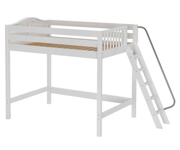 Maxtrix CHUNKY High Loft Bed Full Size White | Maxtrix Furniture | MX-CHUNKY-WX