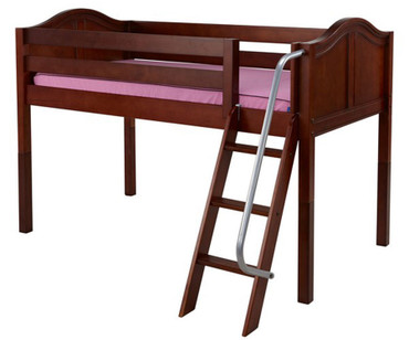 Maxtrix EASY RIDER Low Loft Bed Twin Size Chestnut | Maxtrix Furniture | MX-EASYRIDER-CX