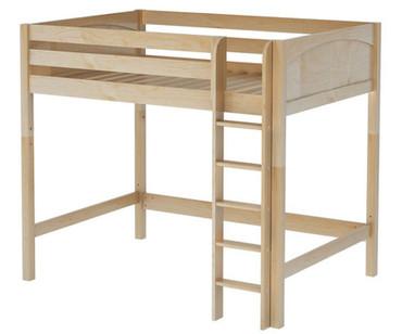 Maxtrix GRAND High Loft Bed Full Size Natural | Maxtrix Furniture | MX-GRAND-NX