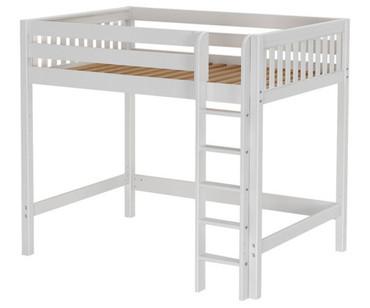 Maxtrix GRAND High Loft Bed Full Size White | Maxtrix Furniture | MX-GRAND-WX