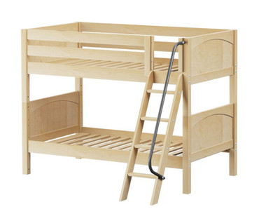 Maxtrix HOTHOT Low Bunk Bed Twin Size Natural | Maxtrix Furniture | MX-HOTHOT-NX