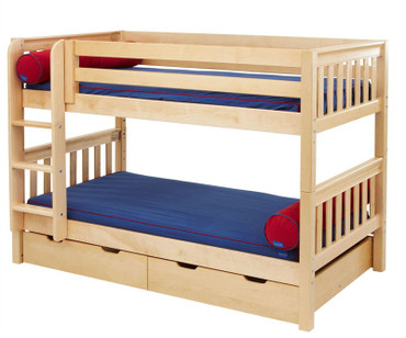 "Maxtrix Low Bunk Bed 61""H 