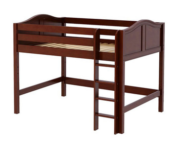 Maxtrix KING Mid Loft Bed Full Size Chestnut | Maxtrix Furniture | MX-KING-CX