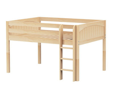 Maxtrix LARGE Low Loft Bed Full Size Natural | Maxtrix Furniture | MX-LARGE-NX