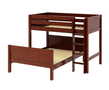 Maxtrix MIX Bunk Bed Twin over Full Size Chestnut | Maxtrix Furniture | MX-MIX-CX