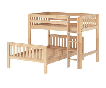 Maxtrix MIX Bunk Bed Twin over Full Size Natural | Maxtrix Furniture | MX-MIX-NX