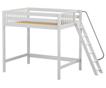 Maxtrix CHUNKY Ultra-High Loft Bed Full Size White | Maxtrix Furniture | MX-ULTRACHUNKY-WX