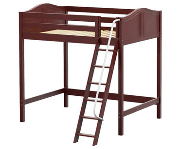 Maxtrix GIANT Ultra-High Loft Bed Full Size Chestnut | Maxtrix Furniture | MX-ULTRAGIANT-CX