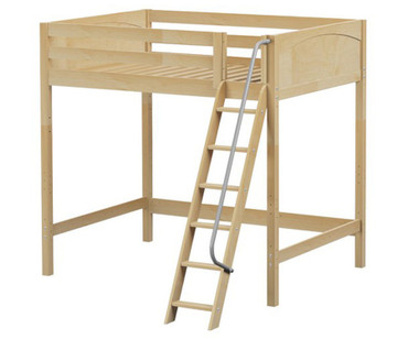 Maxtrix GIANT Ultra-High Loft Bed Full Size Natural | Maxtrix Furniture | MX-ULTRAGIANT-NX