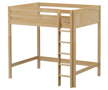 Maxtrix GRAND Ultra-High Loft Bed Full Size Natural | Maxtrix Furniture | MX-ULTRAGRAND-NX