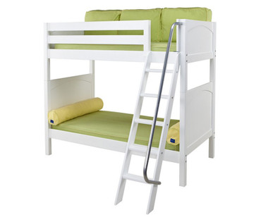 Maxtrix VENTI High Bunk Bed Twin Size White | Maxtrix Furniture | MX-VENTI-WX