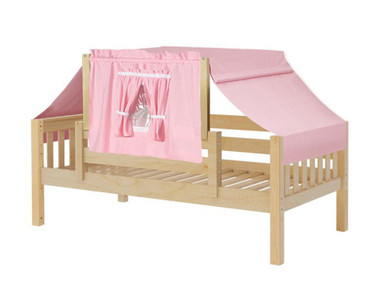 Maxtrix YO Day Bed with Top Tent Twin Size Natural 2 | Maxtrix Furniture | MX-YO23-N
