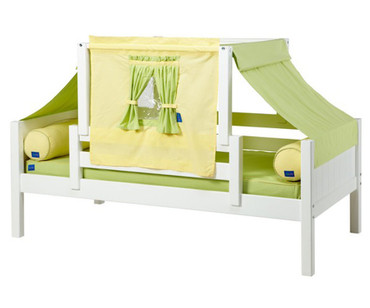 Maxtrix YO Day Bed with Top Tent Twin Size White 3 | Maxtrix Furniture | MX-YO24-W
