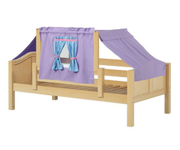 Maxtrix YO Day Bed with Top Tent Twin Size Natural 4 | Maxtrix Furniture | MX-YO27-N