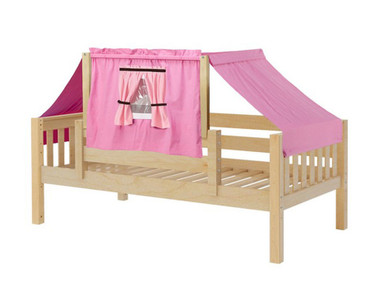 Maxtrix YO Day Bed with Top Tent Twin Size Natural 9 | Maxtrix Furniture | MX-YO73-N