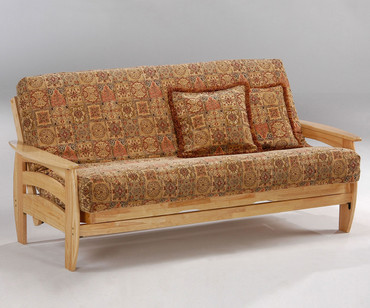 Corona Futon Sofa Natural | Night and Day Furniture | ND-Corona-N