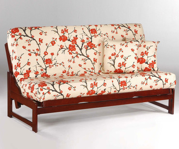 Eureka Futon Sofa Cherry | Night and Day Furniture | ND-Eureka-CH