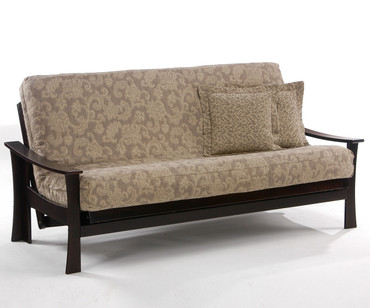 Fuji Futon Sofa Chocolate | Night and Day Furniture | ND-Fuji-CHO