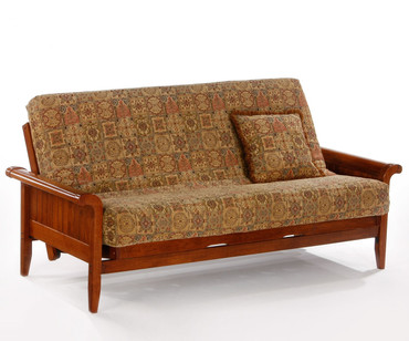 Venice Futon Sofa Cherry | Night and Day Furniture | ND-Venice-CH